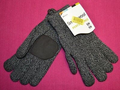 Smartwool Unisex Cozy Grip Gloves Merino Wool Bend Touch Screen Compatible S M