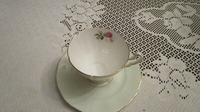 Royal Adderley Mint Green Cup and Plate