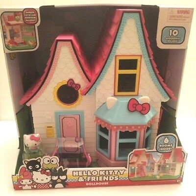 Hello Kitty Doll House- Over 15 Inches Brand New Tall Free Shipping