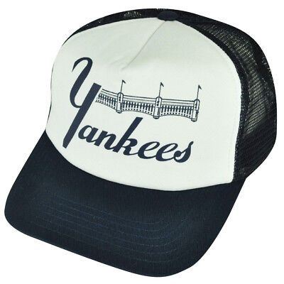 d0f98d684af MLB American Needle New York Yankees Front Gate Foam Mesh Snapback Hat Cap 1  of 2FREE ...