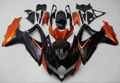 US Warehouse ABS Fairing Injection Bodywork For Suzuki GSXR 600 750 2008-2010 K8