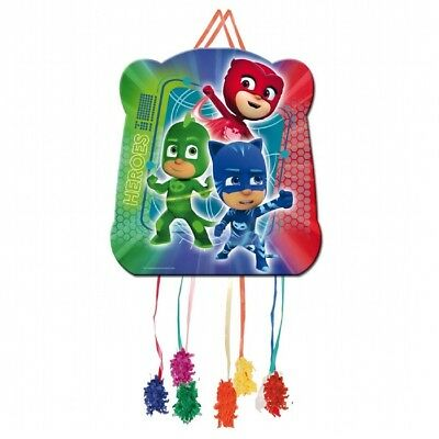 PJ Masks | Superheroes Gekko Party Pull String Pinata | Hanging Game Decoration