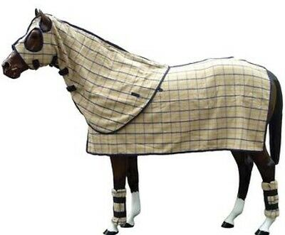 Horse Wool Winter Horse HOOD ~ Very Thick & Cosy Charinga Collar Check  ****NEW
