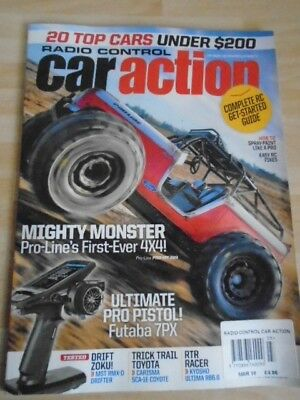 Radio Control Car Action Magazine March 2018