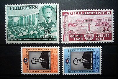 Philippines 4 MNH Stamps 1957/8 ... As Photos