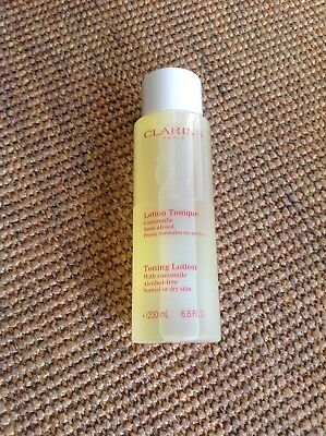 Clarins Toning Lotion for Normal or Dry Skin 200ml Brand New and sealed No Box