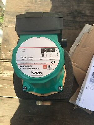 Wilo Top-z25/10 Bronze Pump New