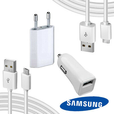 Kit Micro Usb Tipo C Caricabatterie 2 In 1Per Samsung A5/ A6 /a7 / A8 / A9 2018