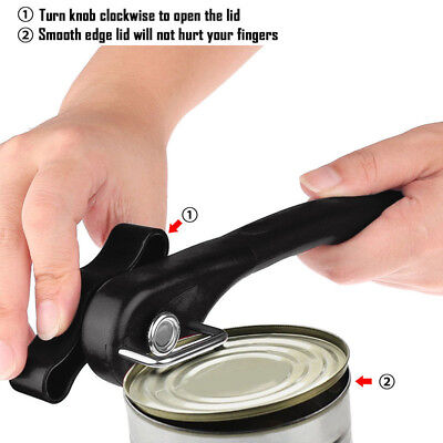 New Multifunction Stainless Steel Safety Side Cut Manual Can Tin Opener 1pcs