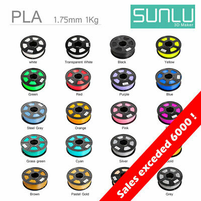 3D Printer Filament PLA PLA+ 1.75mm +/-0.02mm 1KG 20+ Colors BUY 3 GET 1 FREE