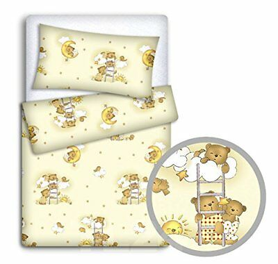 Baby set copripiumone federa + 2PC to fit Junior letto (crema) (B4Z)