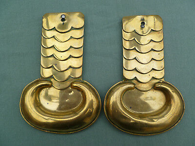 Victorian Military Brass Shoulder Scales