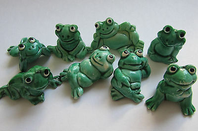 Ü-Ei Ü-Eier Satz Happy Frogs 1986 100% Original Ferrero