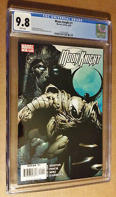 Moon Knight # 1st Print 2006 Series David Finch Cover CGC 9.8 NM+/M