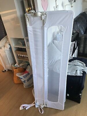 Safetots Extra Wide Bed Rail Mesh Childrens Safety Guard White RETURN