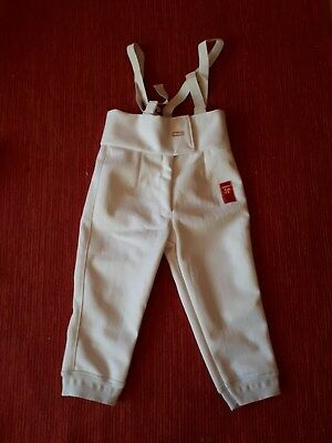 Youths White Fencing Breeches New Unused Great Condition