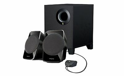 NEW Creative 2.1ch stereo speakers SBS A120 Black SP-SBS-A12R2 from Japan