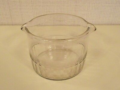 Antique Georgian Hand Blown Glass Wine Rinser - 2 Available