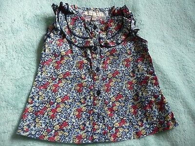** Gorgeous Baby Girl Floral Top - Molly and Jack (9 - 12 months) **