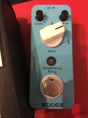 Mooer Effect Pedal  - Ensemble King - Analog Chorus Pedal