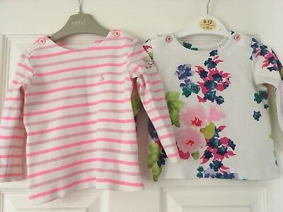 Girls Joules Tops Age 9-12 Months