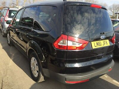 61 Ford Galaxy 2.0 Tdci Zetech Powershift 7 Seats, Spares Or Repair Smoky
