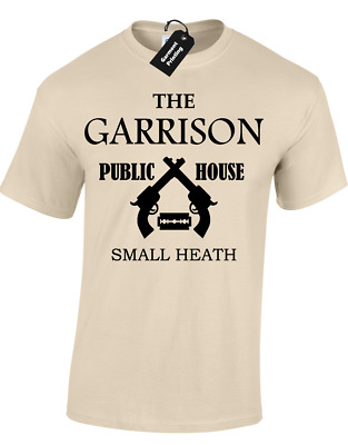 The Garrison Mens T Shirt Peaky Public House Shelby Brothers Blinders Design