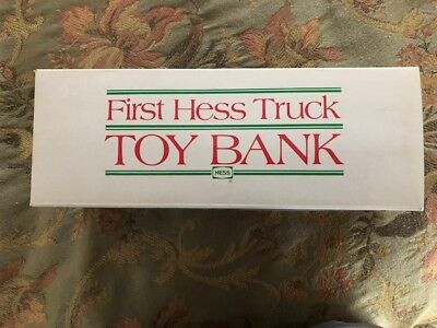 First Hess Truck Toy Bank - NEW