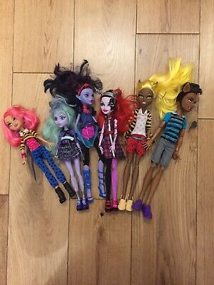 Monster High Doll Bundle - x 6. Including Freaky Fusion Operetta.