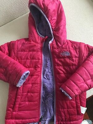 North Face Toddler Mossbud Swirl Reversible Jacket, 3T