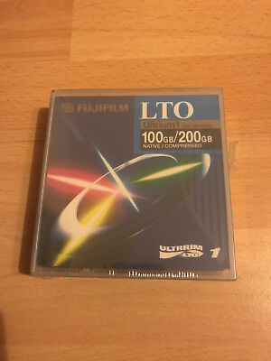 Fuji LTO 1, 100/200 GB, Data Cartridge Datenkassette, NEU & OVP