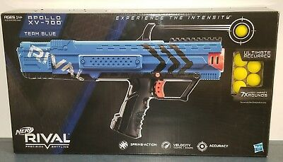 ~NEW~ Nerf Rival Apollo Blue XV-700 Blaster