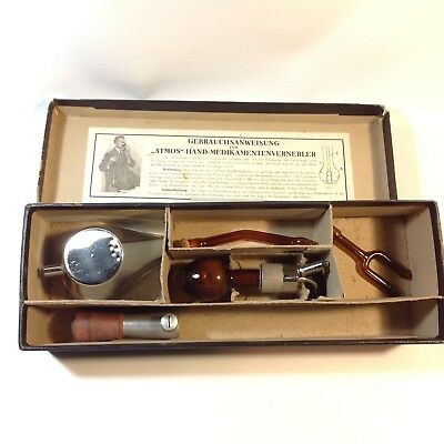 "Vintage Medical ""Atmos"" Inhaler in Original Box"