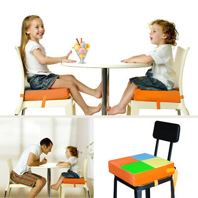 Children Kids Increased High Chair Mat Seat Pad Safe Booster Dining Cushion
