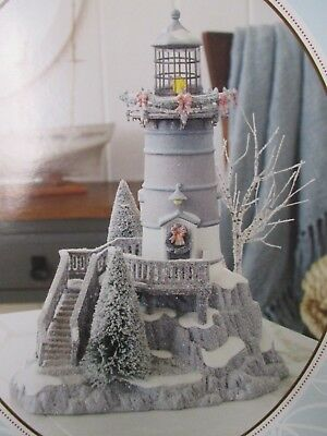 Dept 56 Winters Frost Lighthouse #809459 2011 Rare NIB Unopened