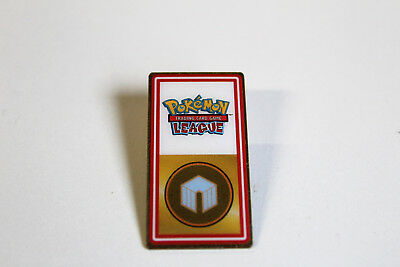 POKEMON TRADING CARD GAME LEAGUE GYM BADGE - rare vintage nintendo