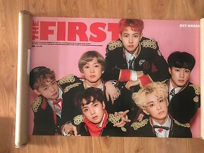NCT DREAM MY FIRST AND LAST Official POSTER Unfolded **NEW**