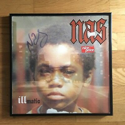 """NAS ILLMATIC Vinyl 12"""" LP Signed by Artist"""