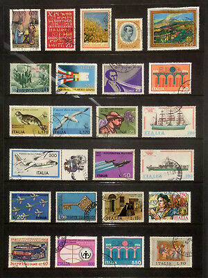 Good selection of stamps from Italy