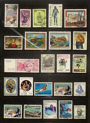 Good lot of stamps from Italy