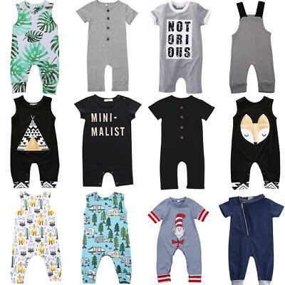 Cute Infant baby Girls Romper Bodysuit Jumpsuit Summer Clothes Outfits Lots