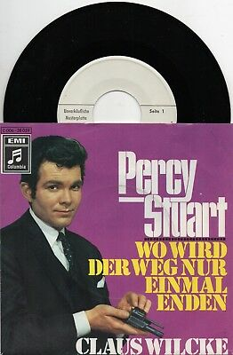 Sg . -   CLAUS WILCKE   -  PERCY STUART     -  weiße Promo