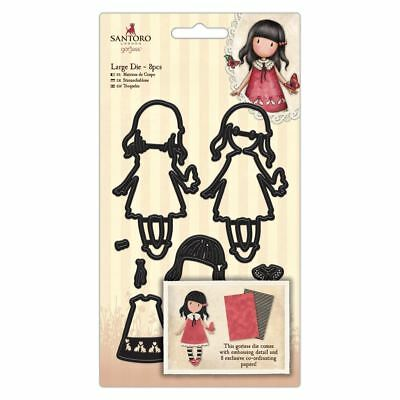 Santoro Gorjuss Garden Craft Collection Large Dies - Time to Fly (8pcs)