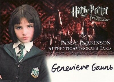 Harry Potter Prisoner of Azkaban Update Genevieve Gaunt as Pansy Parkinson Auto