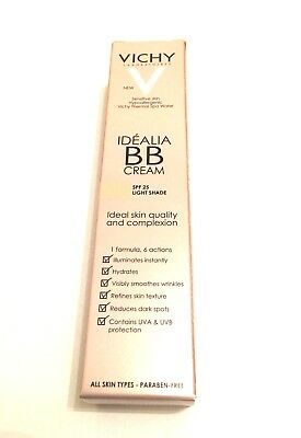 VICHY IDEALIA BB CREAM SPF 25 40ml - LIGHT shade (4520)