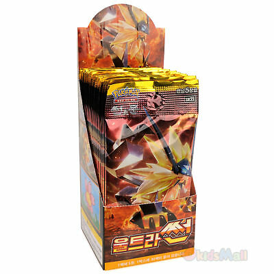 Pokemon Cards TCG Sun & Moon Ultra Prism SUN SM5S Booster 1 Display Box Korean
