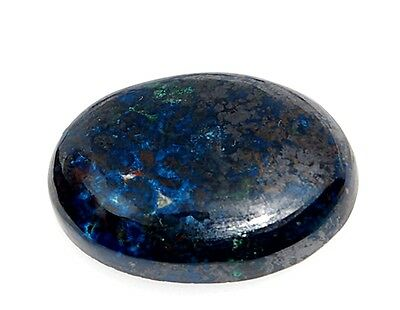 Azurit Cabochon, 63,8ct.,Natural,Heilstein