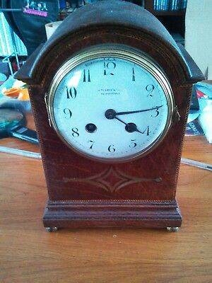 Antique French Clock  Couaillet