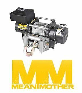 Mean Mother Edge Series 12000Lb Electric Winch-24 Volt