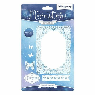 Hunkydory - FAIRY WISHES Craft Die Set - From The Moonstone Range - 8 Dies